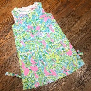 Lily Pulitzer sz 8 Girls shift dress